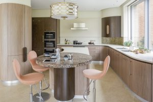 Curved kitchens