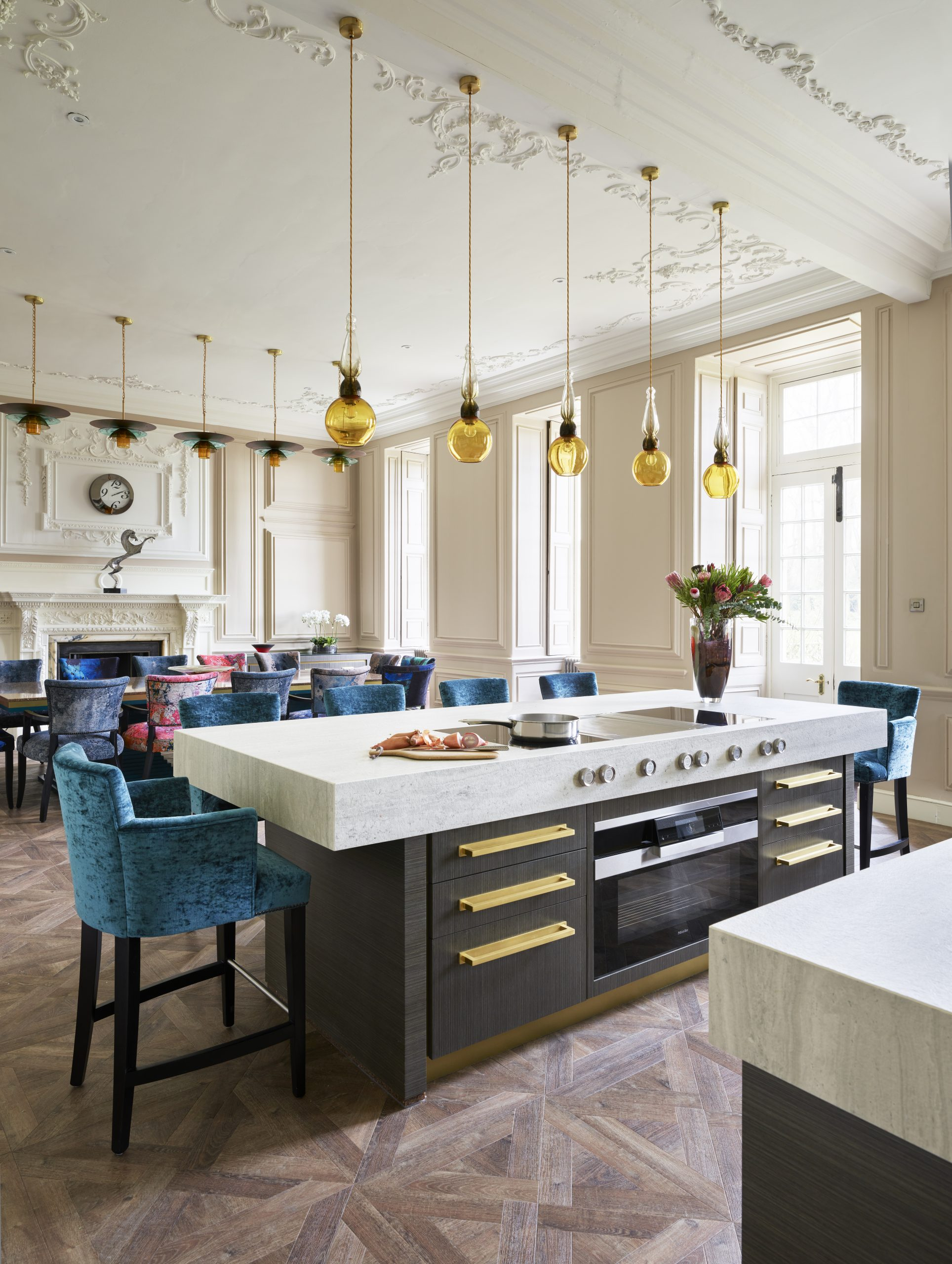 Manor House Kitchen and Pantry - Chiselwood